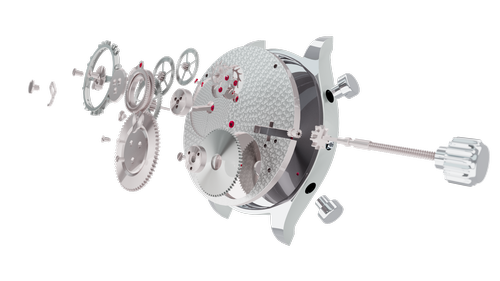 exploded view watch